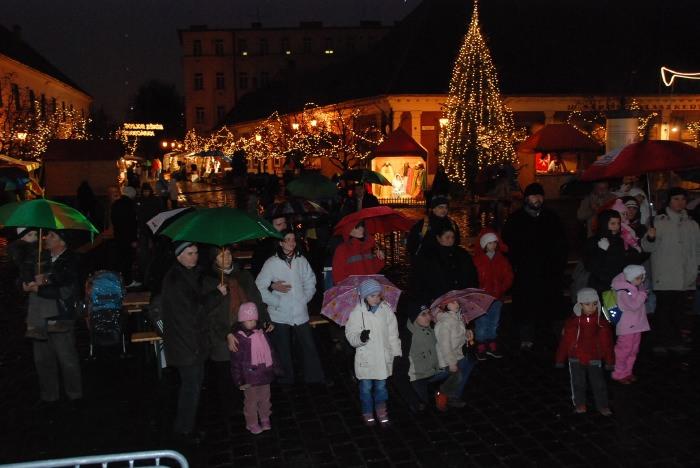 Advent in Obuda Budapest