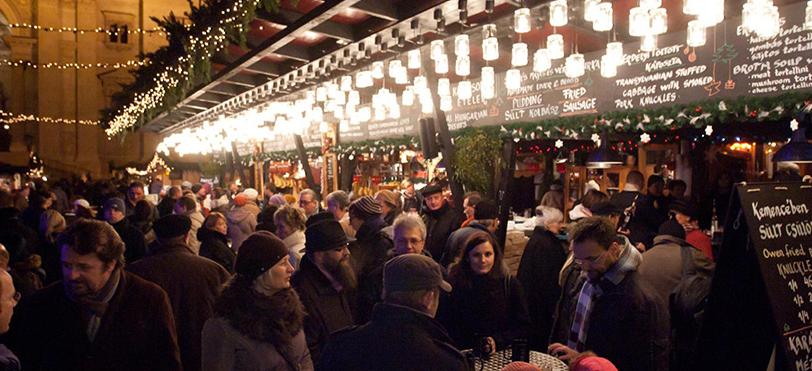Budapest Christmas Fair Basilica