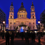 Budapest Christmas Market Basilica