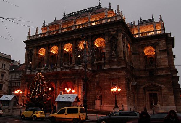 Budapest Opera Christmas - Ben G Hancock Photography