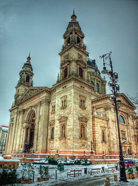 Budapest St Istvan Cathedral