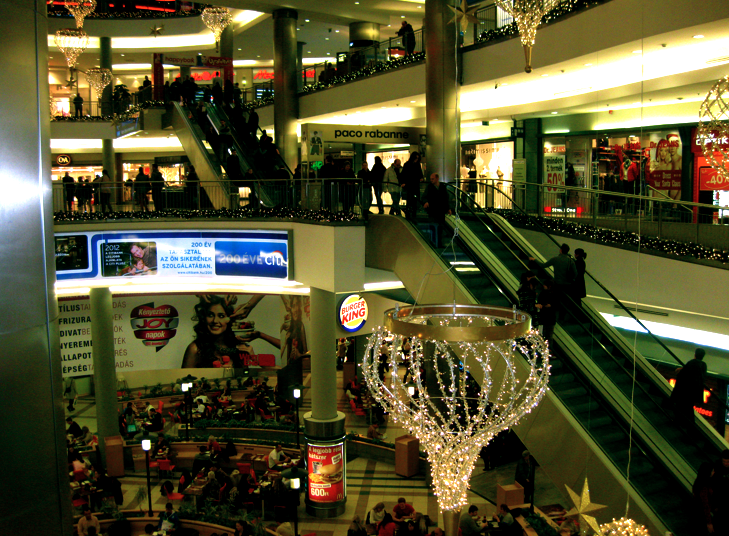 Budapest Westend Shopping Mall Christmas