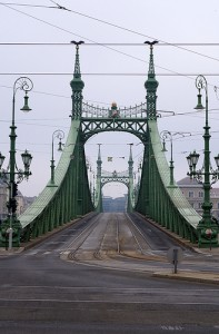 Christmas in Budapest Liberty Bridge