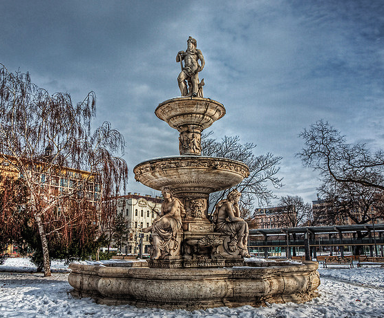 Danubius Fountain Budapest - Neil Howard Photography