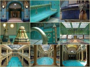 Gellert Spa Photo Collage Budapest