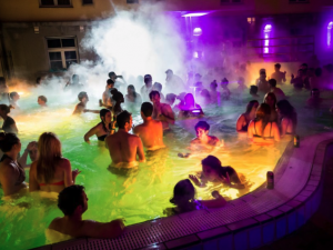 Lukacs Bath Magic Bath Pool Party Budapest