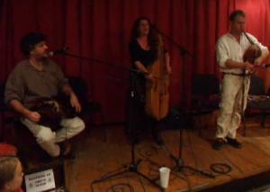 Madardal folk music band at Budapest Christmas Fair