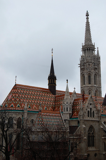 Matthias Church in December