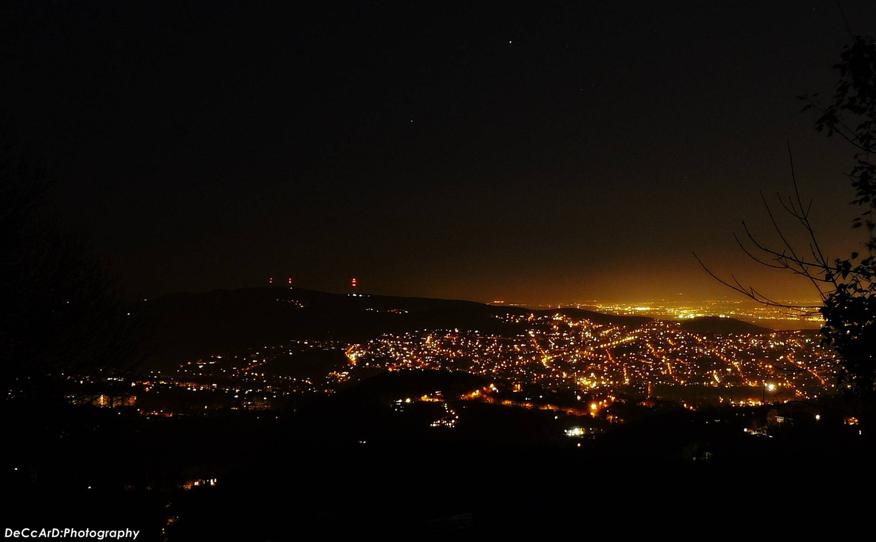 Normafa Night Views