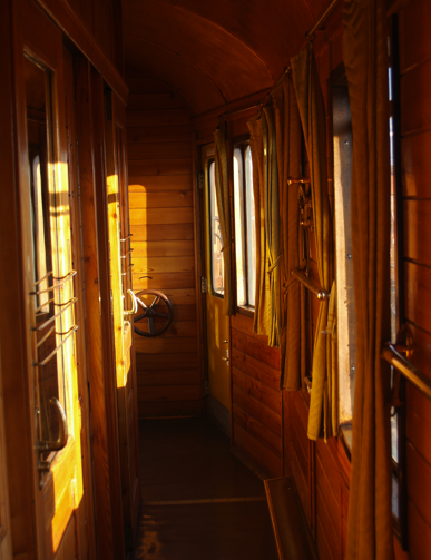Nostalgia Train interior