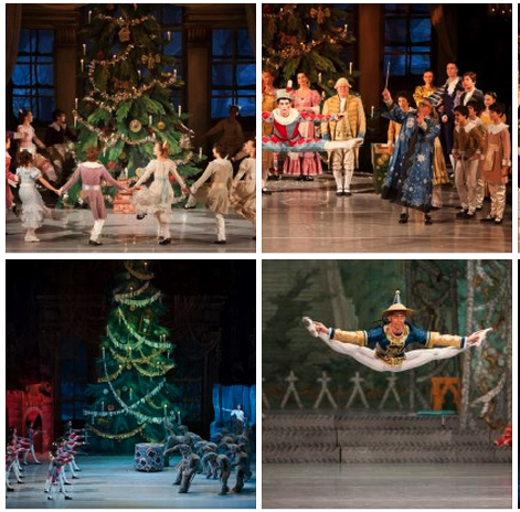 Nutcracker Ballet Budapest Opera House Christmas