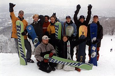Go Free Hungarian Snowboarding Team