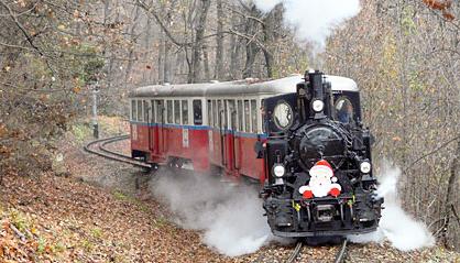 Santa Claus Train Budapest