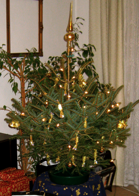 Szaloncukor on the Christmas Tree