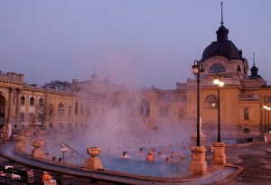 Szechenyi Bath Winter