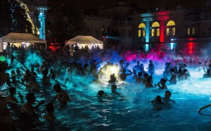 Szechenyi Baths Party Budapest NYE Sparty