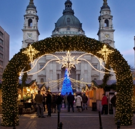 Budapest Christmas Market 2012 Basilica