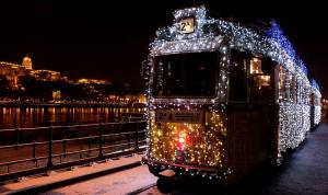 Budapest Christmas Streetcar