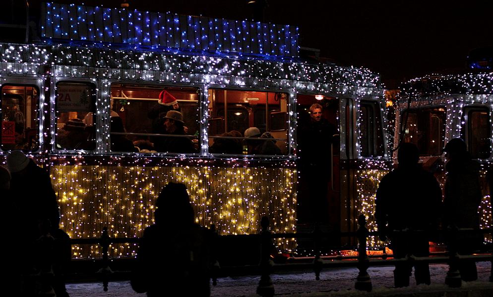 Budapest Christmas Tram