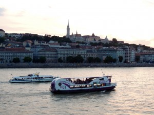 Budapest Sightseeing Cruise by Matthias Church