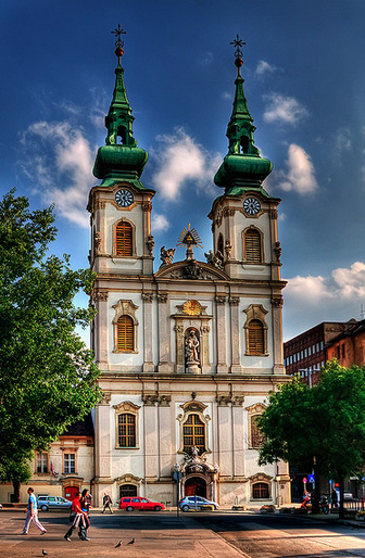 Church of St Anne Budapest