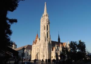 Matthias Church Budapest Christmas