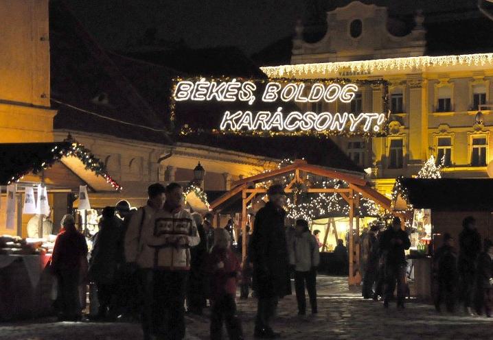 Obuda Christmas Market Budapest