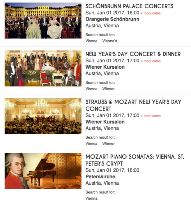New Year's Day Concerts in Vienna