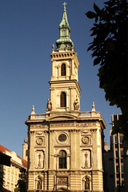 Budapest Inner City St Anne's Church