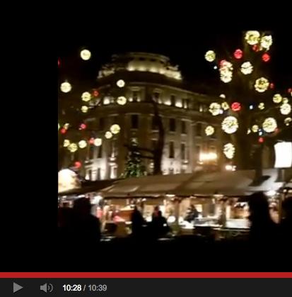 Budapest Christmas videos