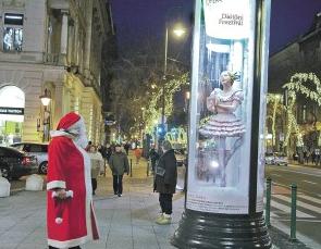 Budapest Nutcracker Festival Installations