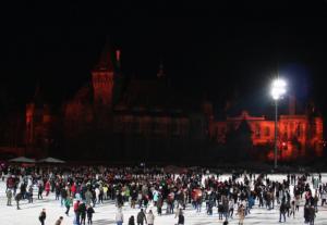Budapest Outdoor Ice Rink in Varosliget