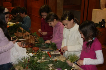 Kids Workshop in Aquincum in December