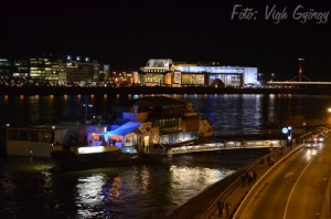 A38 Music Bar Ship Danube Budapest December