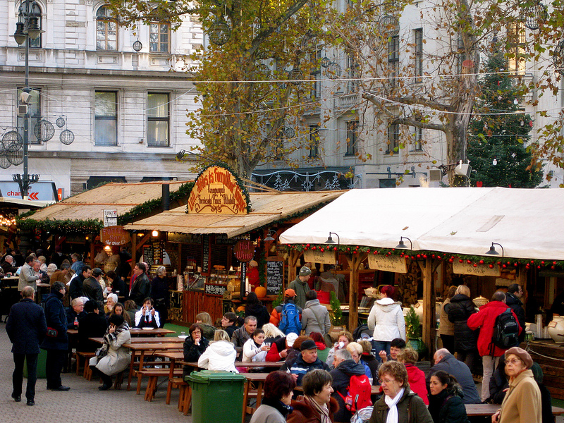 Budapest Christmas Market Advent Fair by Day TopBudapestOrg