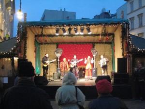 Budapest Christmas Market Folk Concert Hargittai