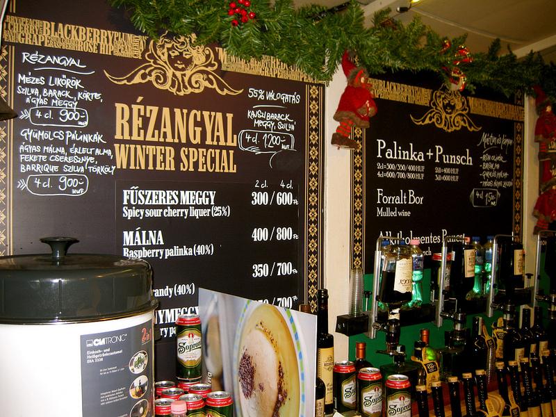 Budapest Christmas Market Palinka from Hungary TopBudapestOrg