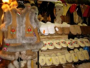Budapest Christmas Market Sheep Fur Kalocsa Vest TopBudapestOrg