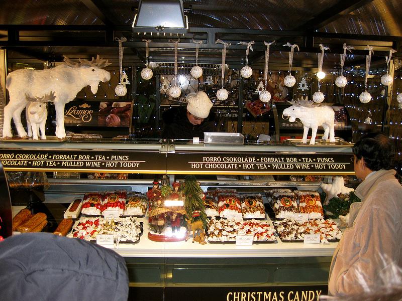 Budapest Christmas Market Szamos Marzipan Candy TopBudapestOrg