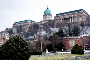 Budapest Winter Visit Buda Castle Hill