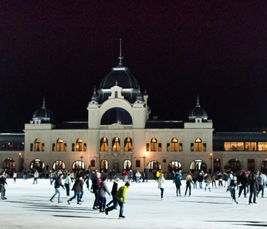 Ice Rink Budapest City Park Christmas