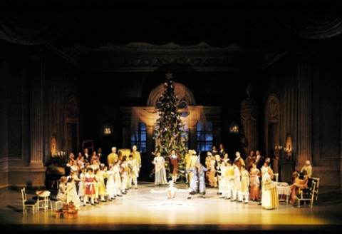 Nutcracker Ballet in Budapest Opera House at Christmas