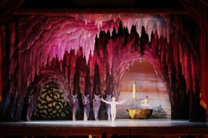 Nutcracker Cave in Budapest Opera House at Christmas