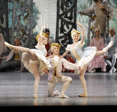 Nutcracker Children in Budapest Opera House at Christmas