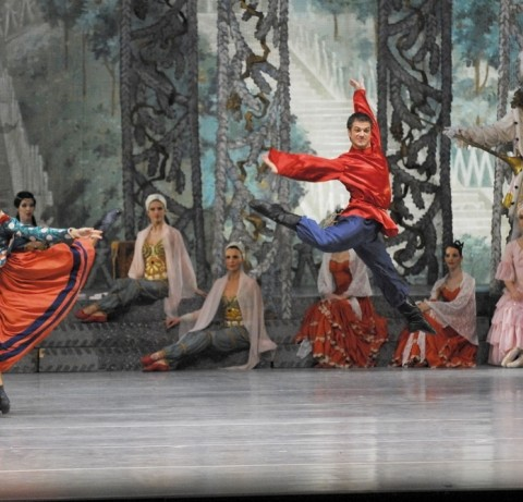 Nutcracker Russian in Budapest Opera House at Christmas