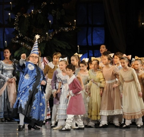 Nutcracker Show in Budapest Opera House at Christmas
