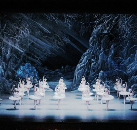 Nutcracker Snow in Budapest Opera House at Christmas