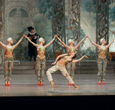 Nutcracker Turkish in Budapest Opera House at Christmas