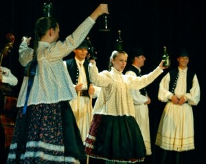 Budapest Folk Show at Christmas