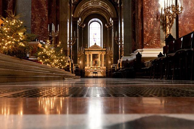 Budapest St Stephen Basilica Mass